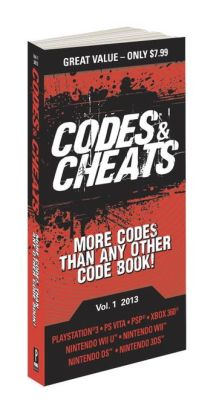 Codes & Cheats Vol. 1 2013: Prima Game Guide