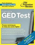 Book Cover Image. Title: Cracking the GED Test with 2 Practice Tests, 2015 Edition, Author: Princeton Review