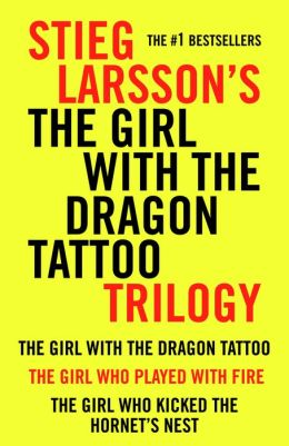 Stieg Larsson Millennium Trilogy: The Girl with the Dragon Tattoo, The Girl Who Played with Fire, The Girl Who Kicked the Hornet's Nest