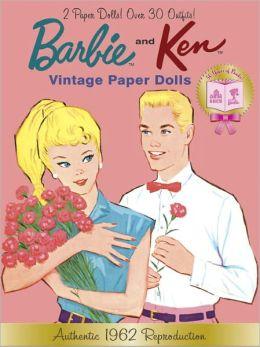 Barbie and Ken Vintage Paper Dolls (Barbie)
