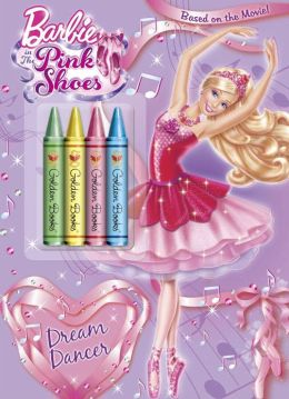 Barbie Spring 2013 DVD Chunky Crayon Book (Barbie)