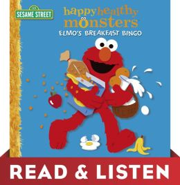 Elmo's Breakfast Bingo (Sesame Street): Read & Listen Edition