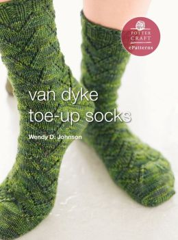 Van Dyke Socks: E-Pattern from Socks from the Toe Up