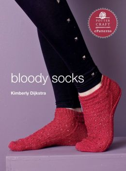 Bloody Socks: E-Pattern from Vampire Knits