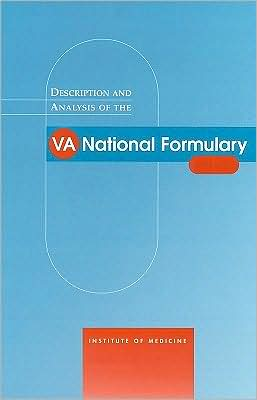 Description and Analysis of the VA National Formulary
