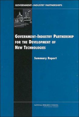 Government-Industry Partnerships for the Development of New Technologies