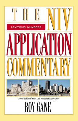 Niv Application Commentary Leviticus Numbers