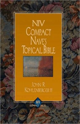NIV Compact Nave's Topical Bible