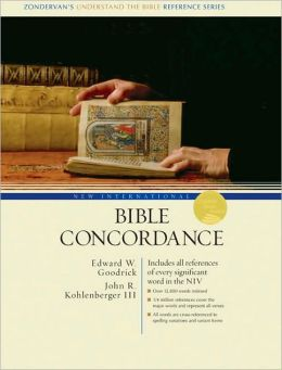 New International Bible Concordance: Includes All References of Every Significant Word in the NIV