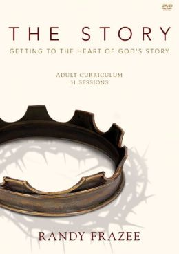 The Story Adult Curriculum DVDR: Getting to the Heart of God's Story