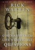 Book Cover Image. Title: God's Answers to Life's Difficult Questions, Author: Rick Warren