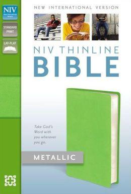 NIV Thinline Metallic Collection Bible