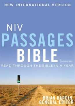 NIV Passages Bible: Read through the Bible in a Year