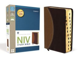 NIV Study Bible, Compact Indexed
