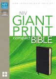 Book Cover Image. Title: NIV Compact Bible, Giant Print, Author: Zondervan