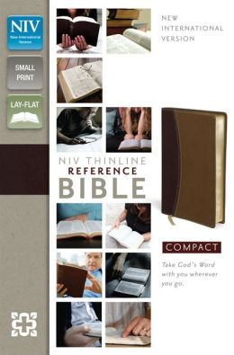 NIV Thinline Reference Bible, Compact