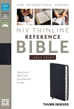 NIV Thinline Reference Bible, Large Print