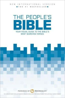 People's Bible NIV: Your Visual Guide to the Bible's Most-Searched Verses