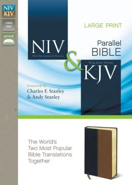 NIV and KJV Side-by-Side Bible, Large Print