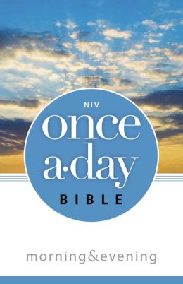 Once-A-Day Morning and Evening Bible-NIV