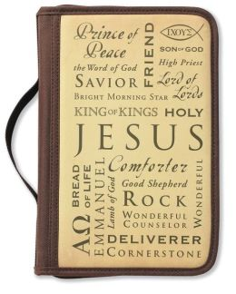 Inspiration Names of Jesus Bible Cover