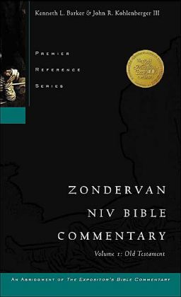 Zondervan NIV Bible Commentary: Old Testament