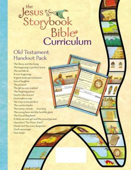 The Jesus Storybook Bible Curriculum Kit Handouts, Old Testament
