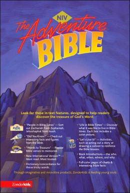 Adventure Bible, Revised Edition: New International Version (NIV), navy bonded leather