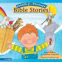 Finish-the-Picture Bible Stories