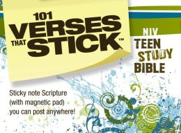 101 Verses that Stick for Teens based on the NIV Teen Study Bible: Bible Verses for Your Locker or Home ZonderKidz