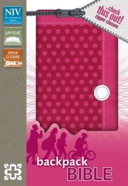 NIV Backpack Zipper Bible