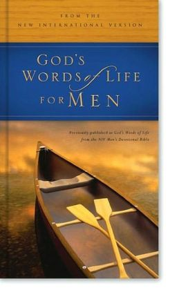 God's Words of Life for Men: from the NIV Men's Devotional Bible Deluxe