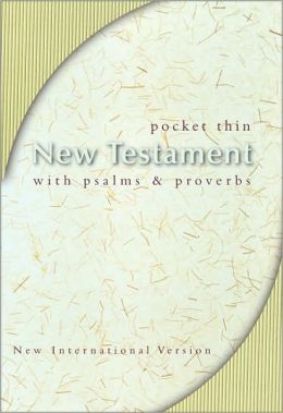 NIV Pocket Thin New Testament with Psalms and Proverbs