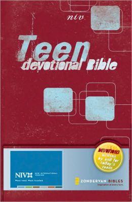 Teen Devotional Bible: Devotions for Teens, Written by Teens