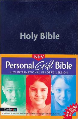 Children's Personal Gift Bible: New International Reader's Version (NIrV), navy imitation leather