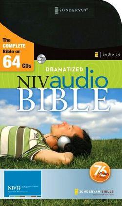 NIV Audio Bible Dramatized CD Zondervan Publishing