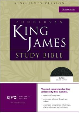 Zondervan KJV Study Bible: King James Version, black top grain leather