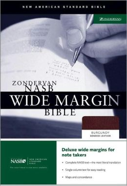 Zondervan NASB Wide Margin Bible