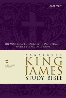Zondervan King James Study Bible, Large Print