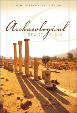 Archaeological Study Bible, Large Print: An Illustrated Walk Through Biblical History and Culture