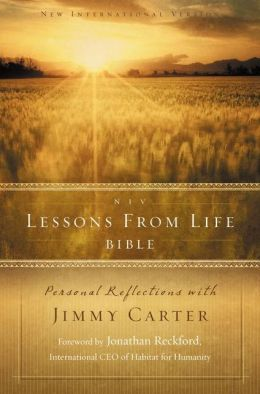 Lessons from Life Bible-NIV: Personal Reflections with Jimmy Carter