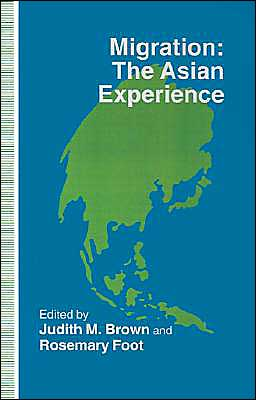 Migration, The Asian Experience