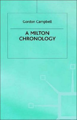 A Milton Chronology