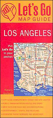 Let's Go Map Guide Los Angeles