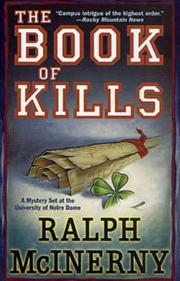 The Book of Kills (Notre Dame Mystery Series #4)