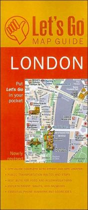 Let's Go Map Guide London