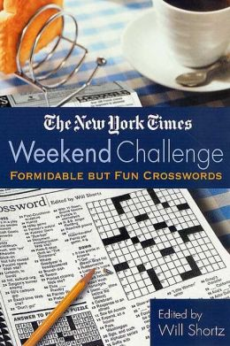 The New York Times Weekend Challenge: Formidable but Fun Crosswords