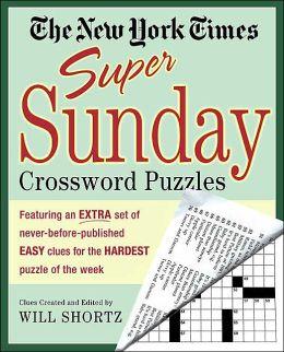 New York Times Super Sunday Crossword Puzzles