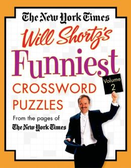 New York Times Will Shortz's Funniest Crossword Puzzles