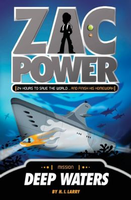 Deep Waters (Zac Power Series #2)